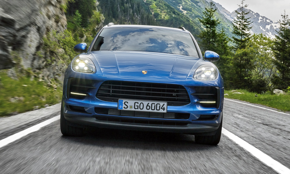 The refreshed Porsche Macan gains a 180 kW turbopetrol four-pot.