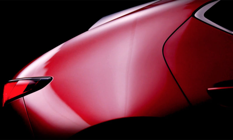 Mazda 'new era' teaser hints at next Mazda3