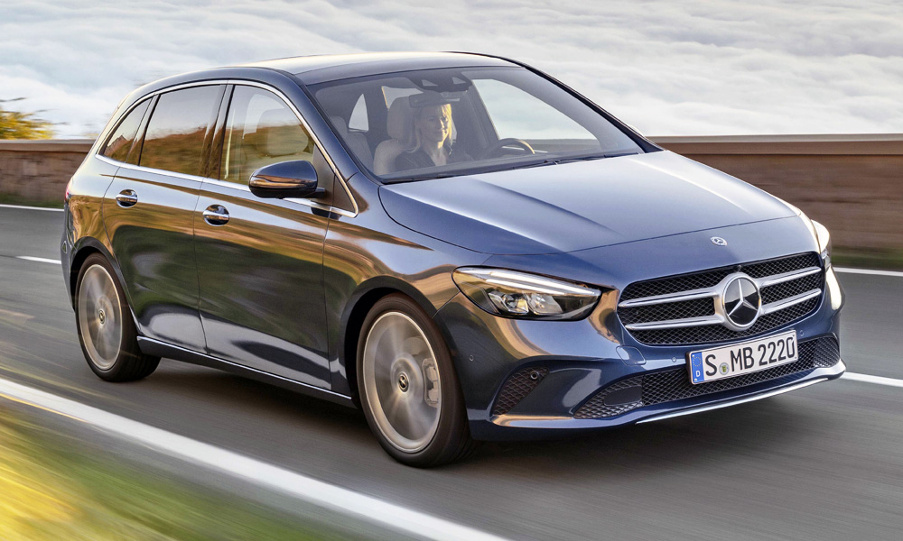 The new Mercedes-Benz B-Class has been revealed.