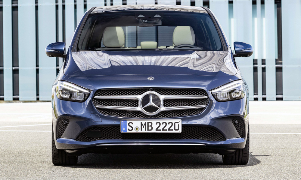 The new face of B-Class.