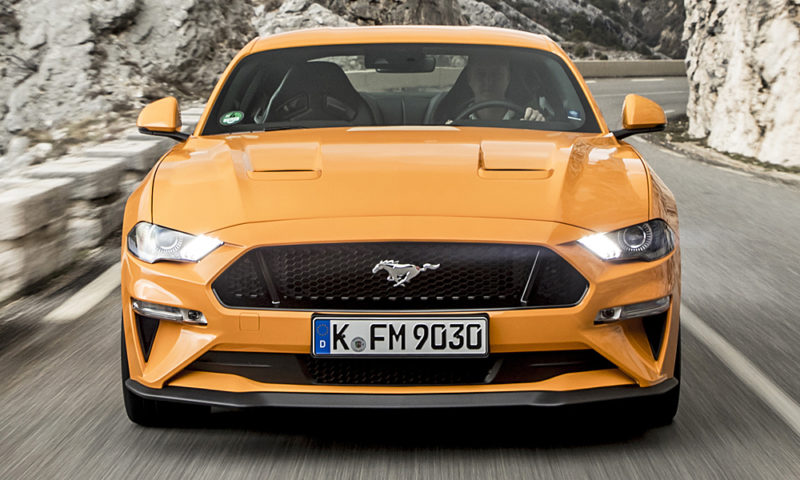 Ford Mustang advert banned
