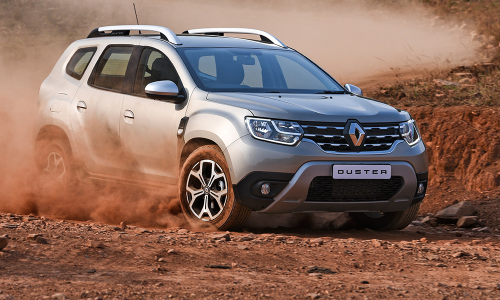 The Duster range consists of five models: one petrol and four diesels across three trim lines.