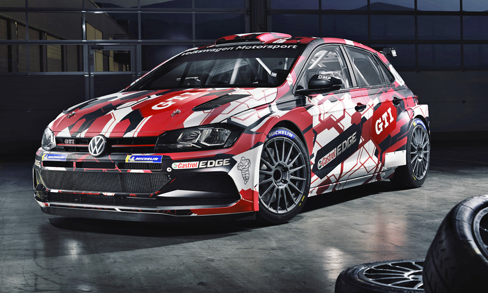 The Volkswagen Polo GTI R5's new livery has been revealed.
