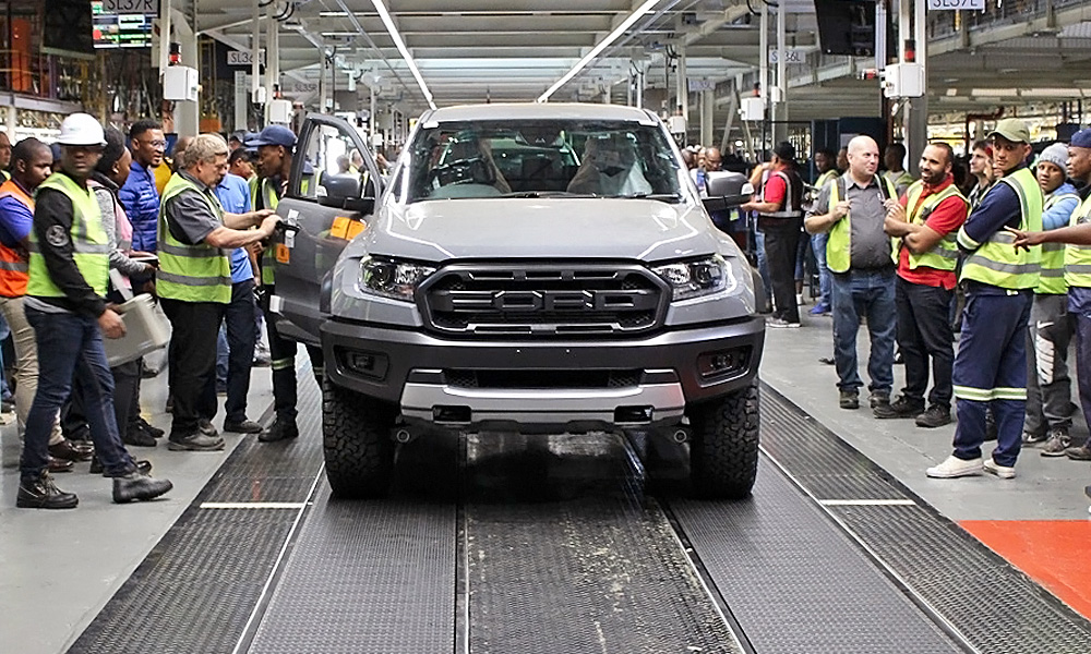 The first trial units of the Ranger Raptor have rolled off the line at Silverton.