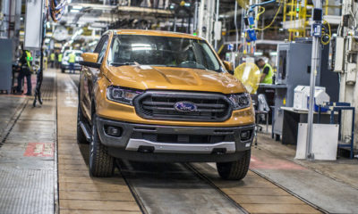 Production of the US-spec Ford Ranger commences