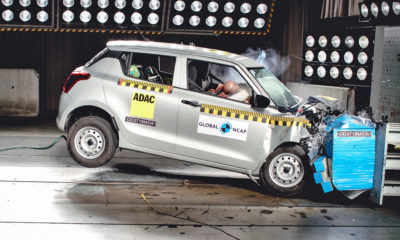 Suzuki Swift Global NCAP crash test