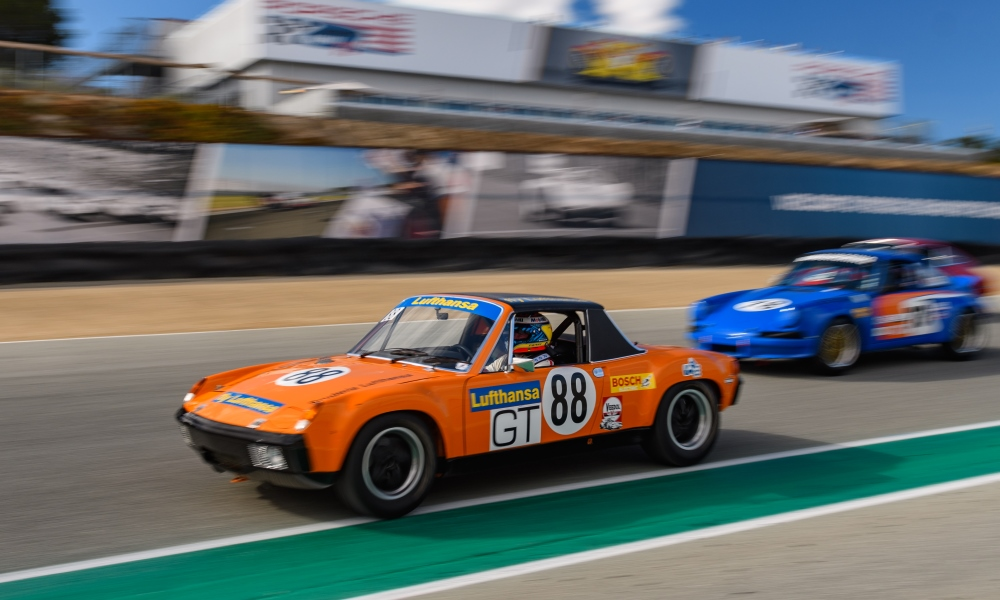 The 914 drivers stole the stage with their heroic driving skills.