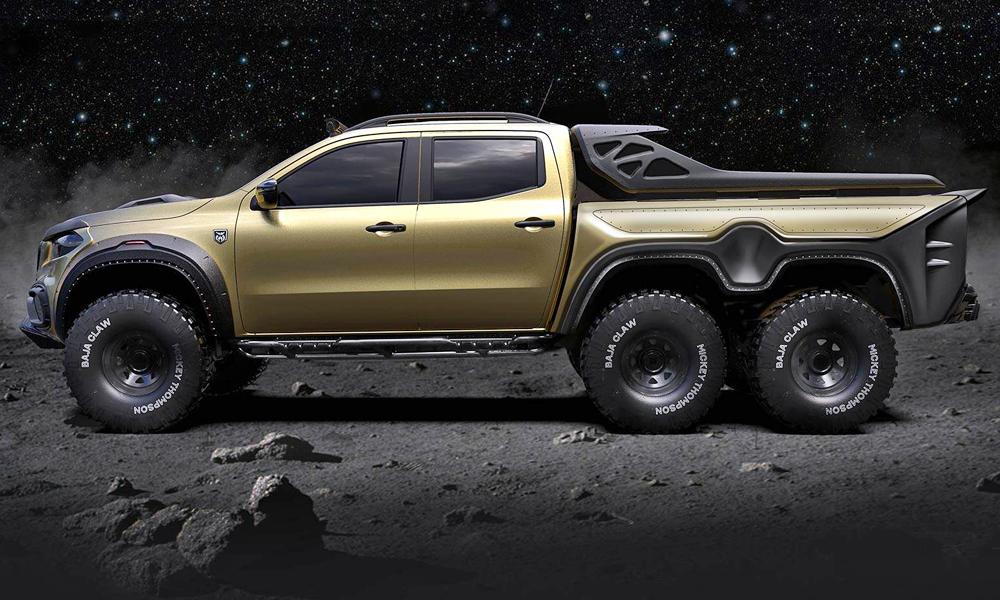 Carlex Design has released images of its Mercedes-Benz X-Class 6x6 concept.