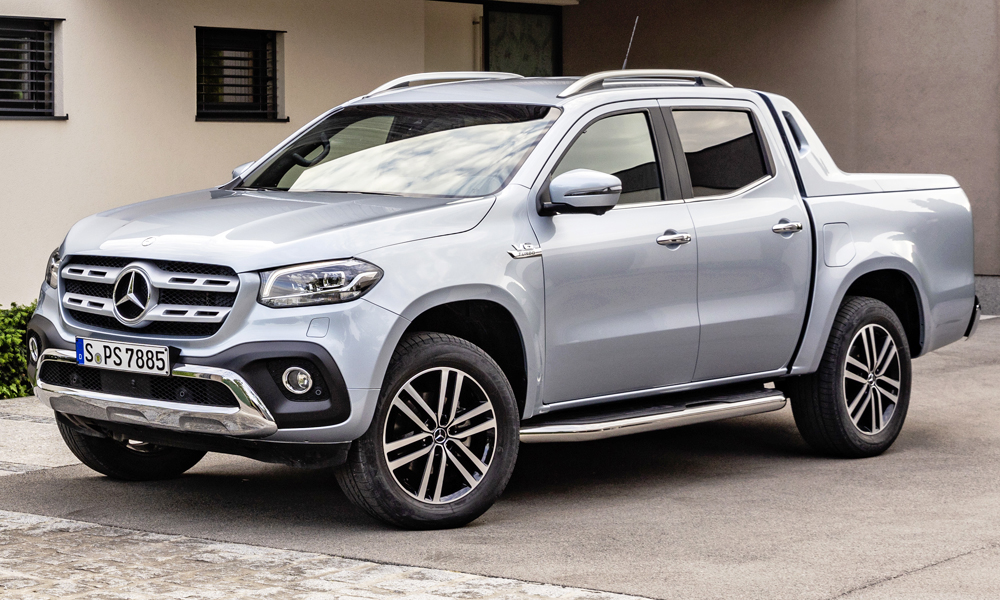 mercedes benz x class v6 arrives x350d pricing revealed car magazine. Black Bedroom Furniture Sets. Home Design Ideas