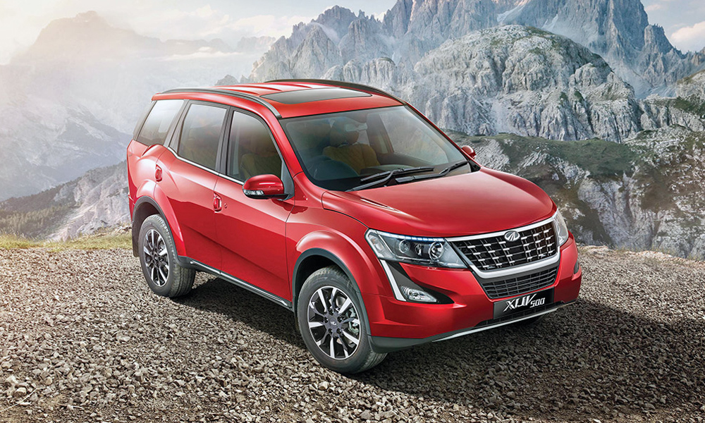 Mahindra has updated its XUV500 range for a second time.