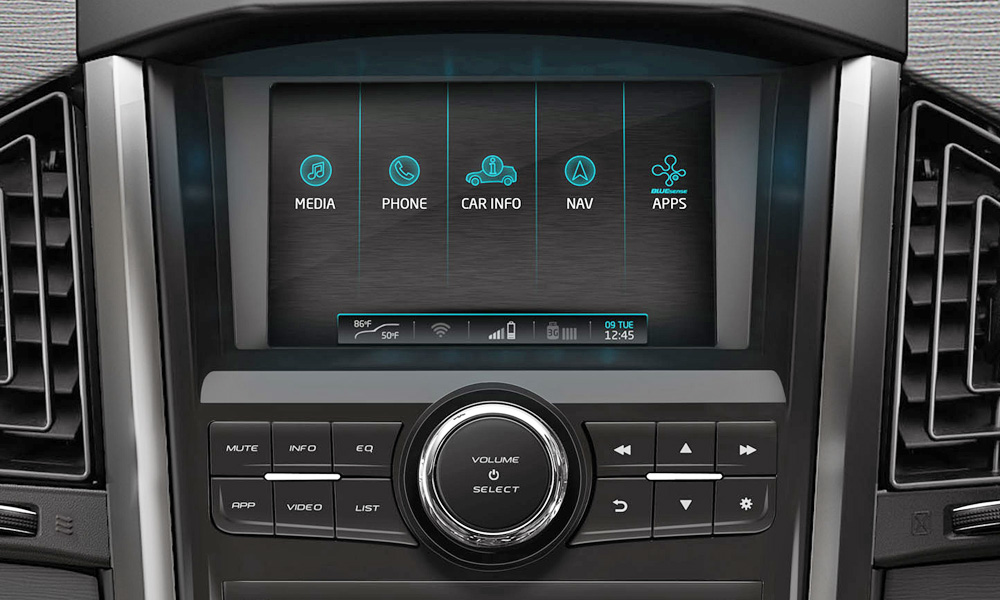 The infotainment system comes courtesy of Arkamys.