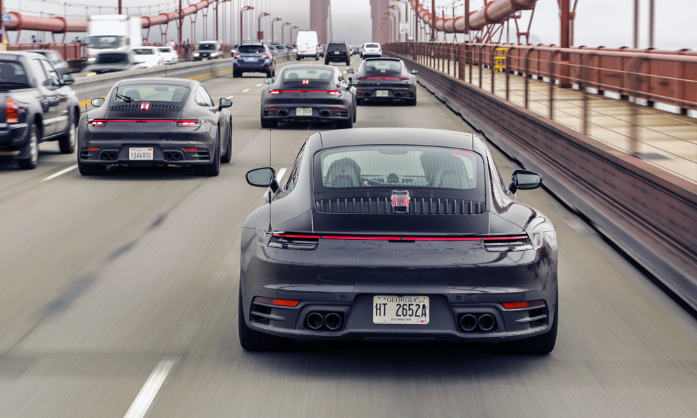 Porsche has released fresh images of the new 992-generation 911.