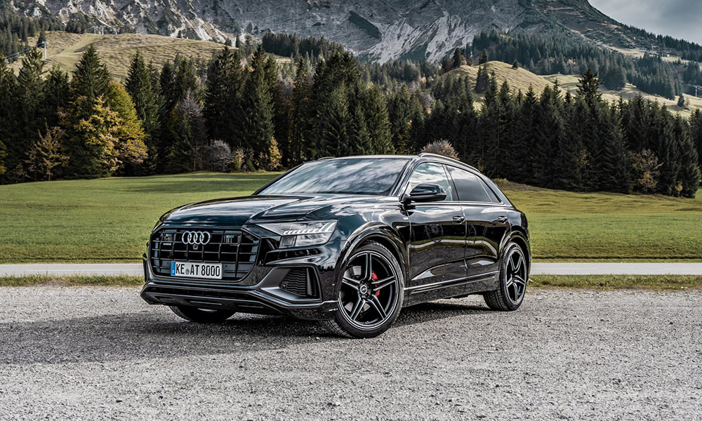 Audi's flagship crossover, the Q8, has now received more power compliments of ABT Sportsline.