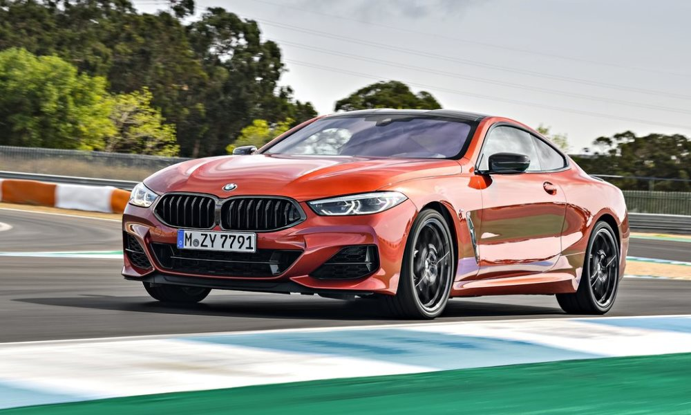 Out of sight burbles the familiar N63 4,4-litre, twin-turbo V8 found in other large BMWs.