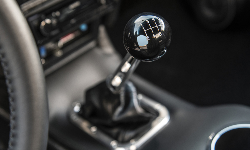 Manual enthusiasts rejoice! The Boss features a six-speed stick-shift.