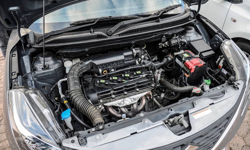Frugal Baleno's 1,4-litre engine offers a tank range of more than 600 km.