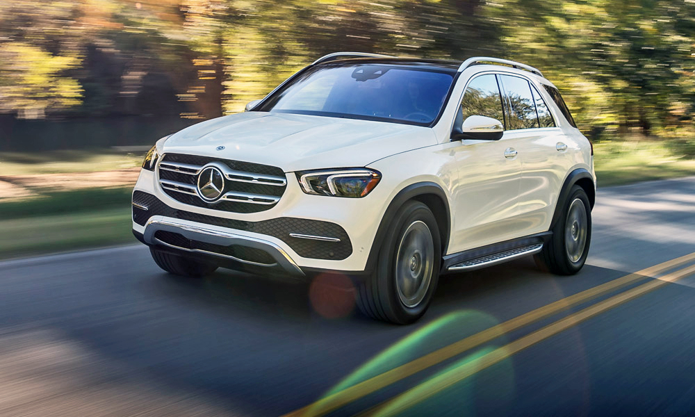 We drive the new Mercedes-Benz GLE450 in the US.