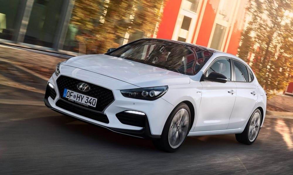 The i30 Fastback looks a bit faster with this N Line pack.