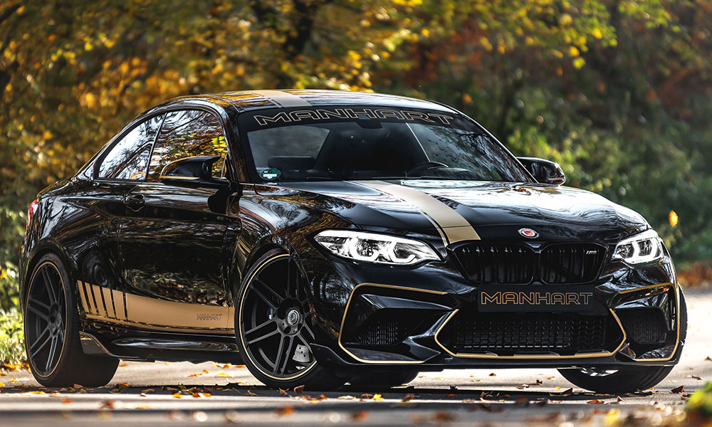 This Manhart's menacing 404 kW M2 Competition-based MH2 550.
