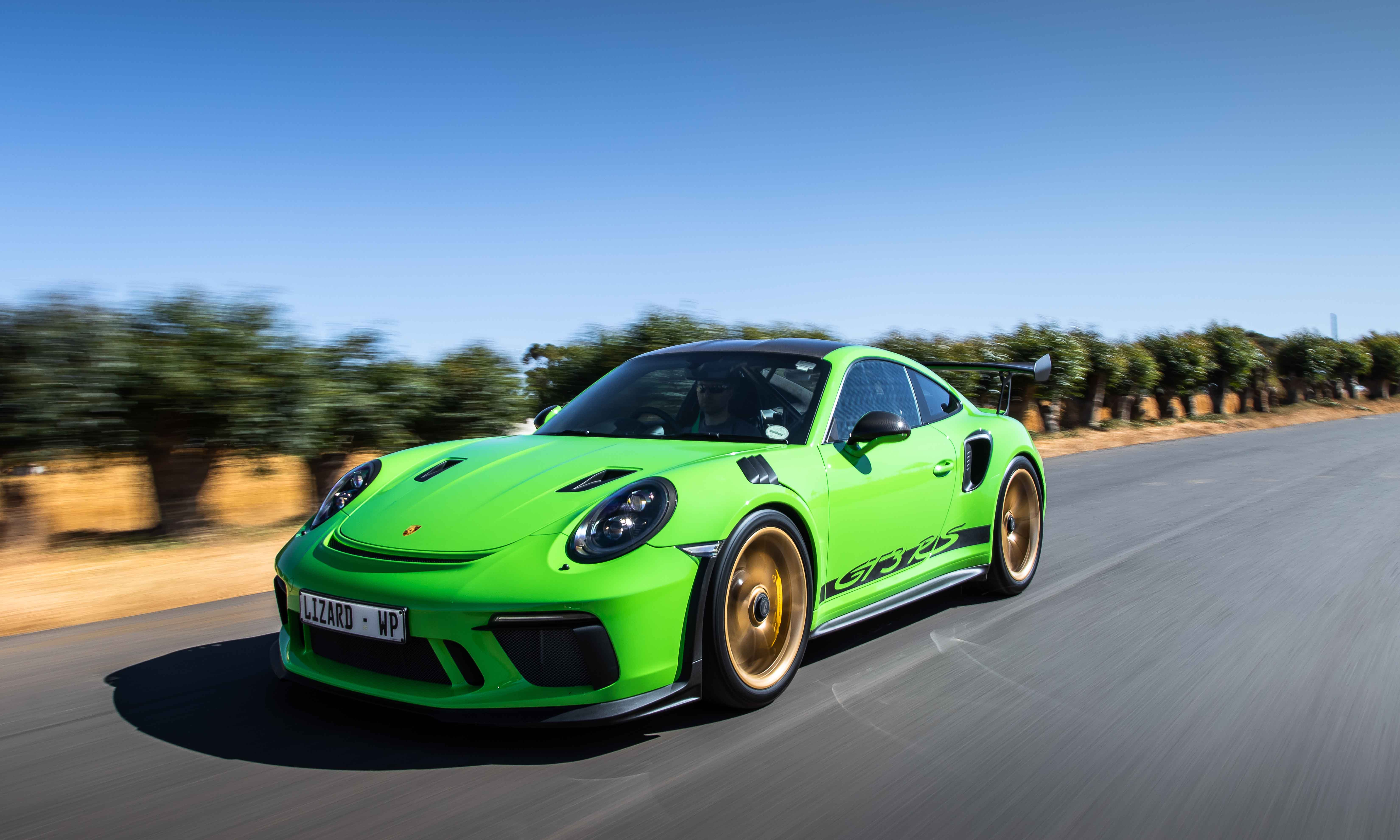 New GT3 RS shares several components with the current GT2 RS.