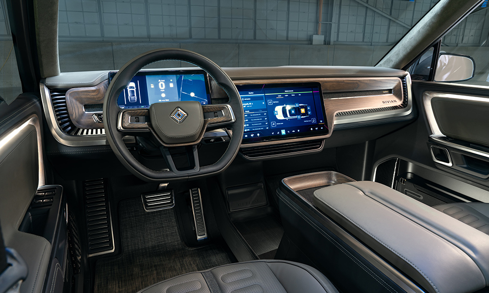 The interior is built to a high level of quality and durability, with a digital instrument cluster making its way to the cabin.