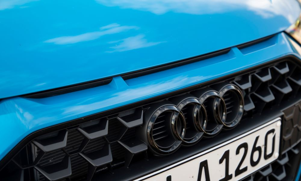 Air inlets pay homage to the 1984 Ur-quattro.