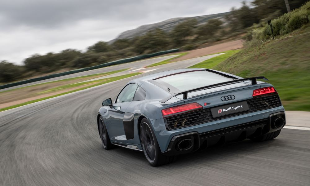 The R8 still feels heavy but the new steering system helps it tackle corners with ease.
