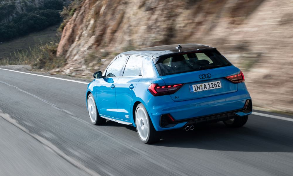 The sporty chassis makes it a treat to tackle the twisty roads of Ronda.