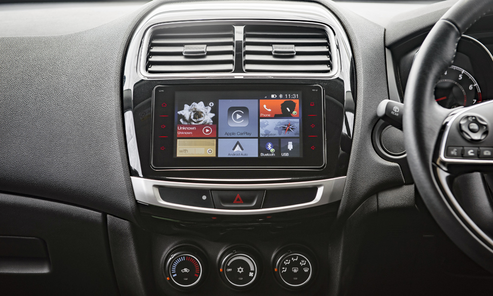 The upgraded infotainment system supports Apple CarPlay and Android Auto.