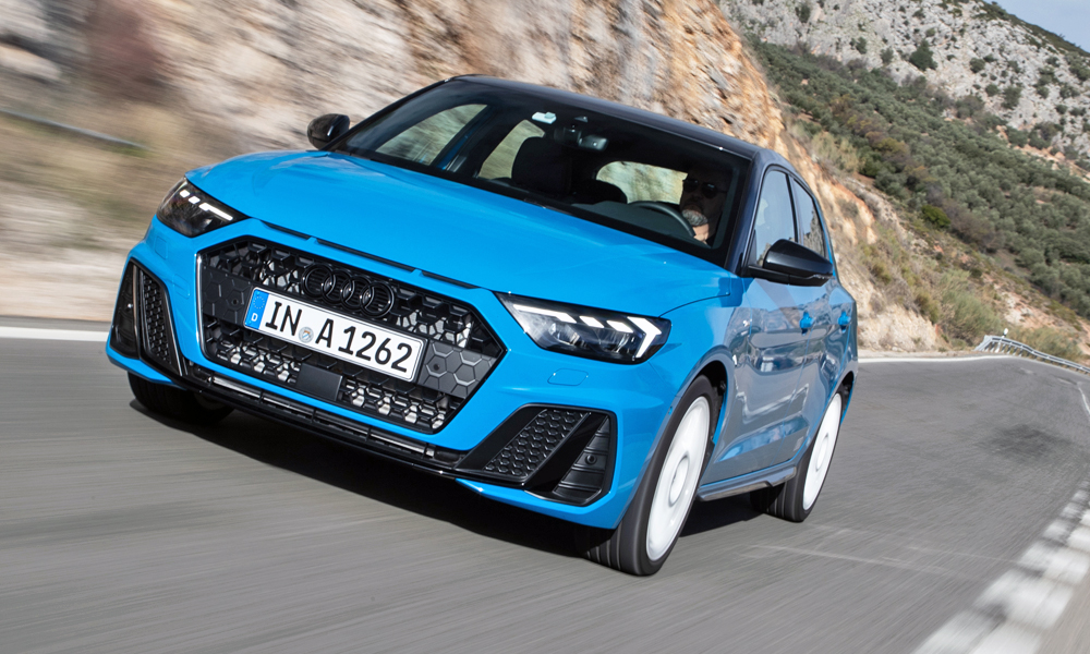 The Audi A1 40T FSI employs the VW Polo GTI's powertrain.