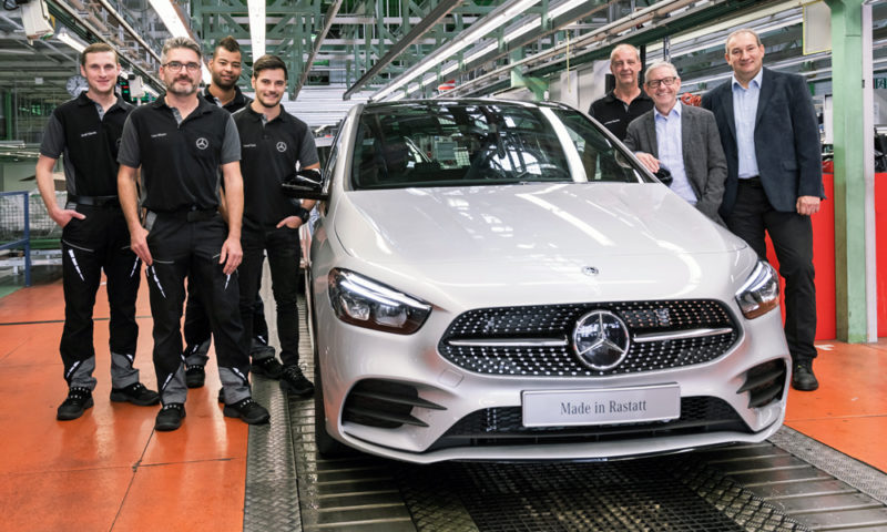 Mercedes-Benz B-Class production