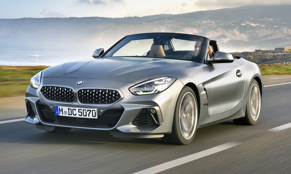 We drive the new BMW Z4 M40i in Portugal.