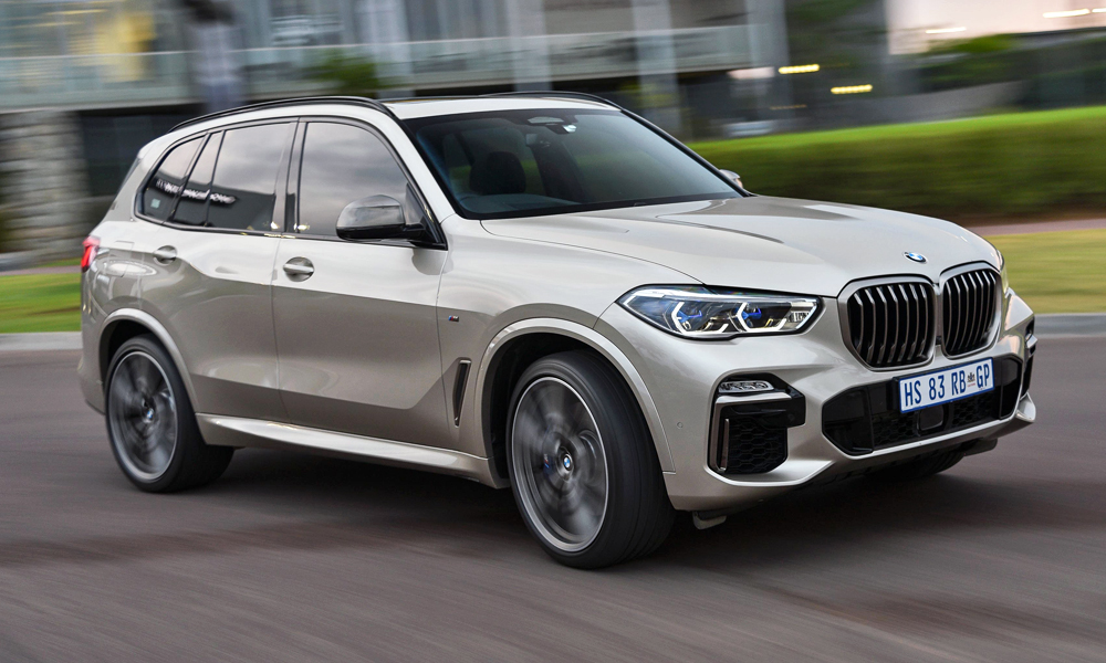 We've driven the new BMW X5 M50d.