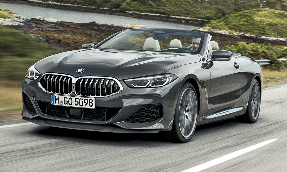 The new BMW 8 Series Convertible has been revealed.