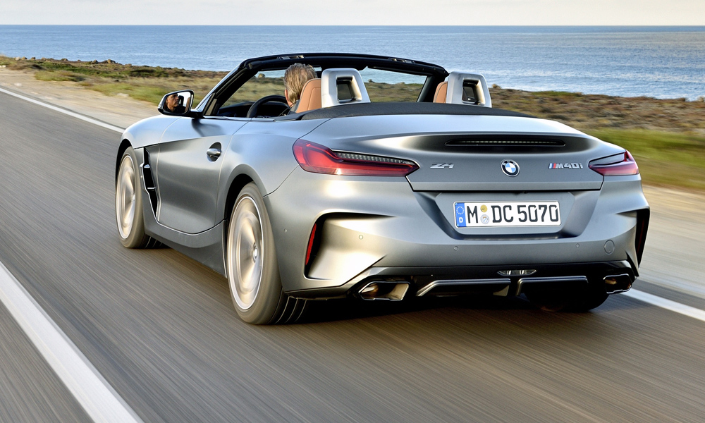 The new Z4 shares its platform with the upcoming Toyota Supra.