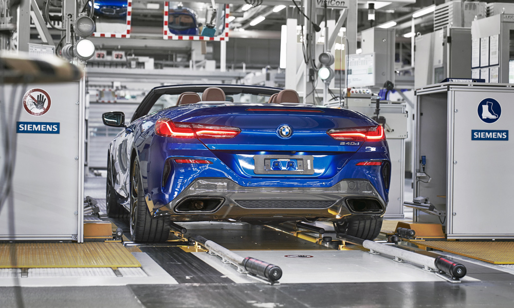 Production of the new BMW 8 Series Convertible has commenced.