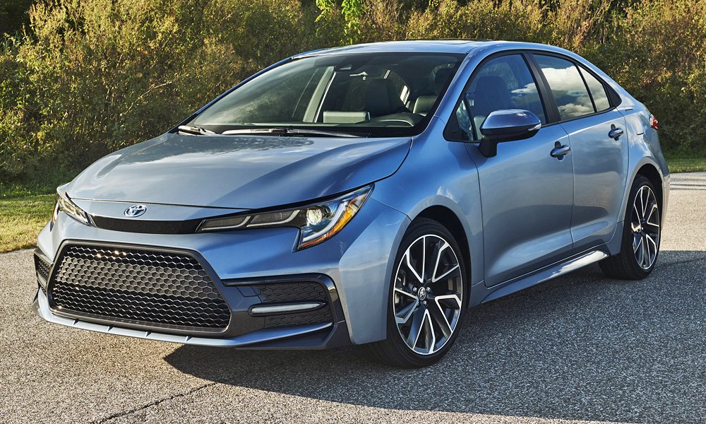Toyota has revealed its new Corolla sedan (US-spec version pictured).