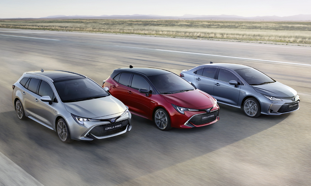The sedan joins the wagon and hatchback.