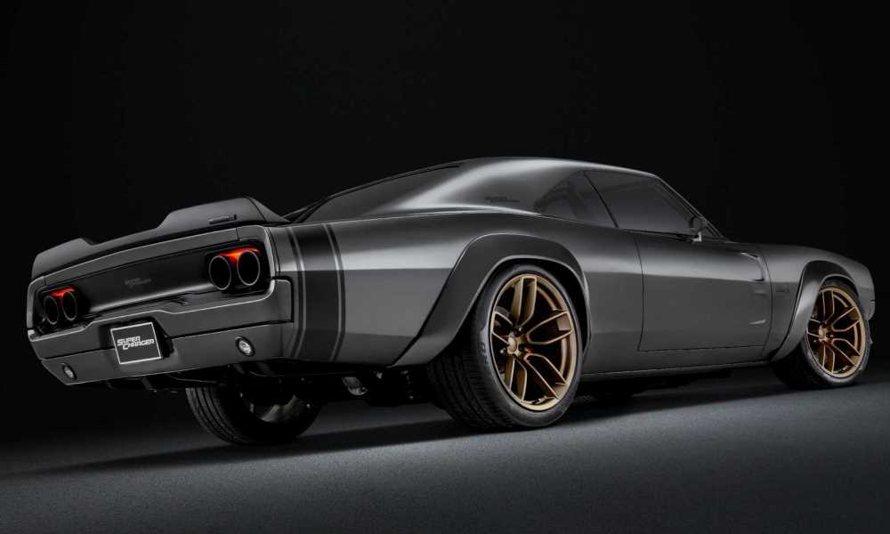 Wheels have been sourced from the Dodge Demon.