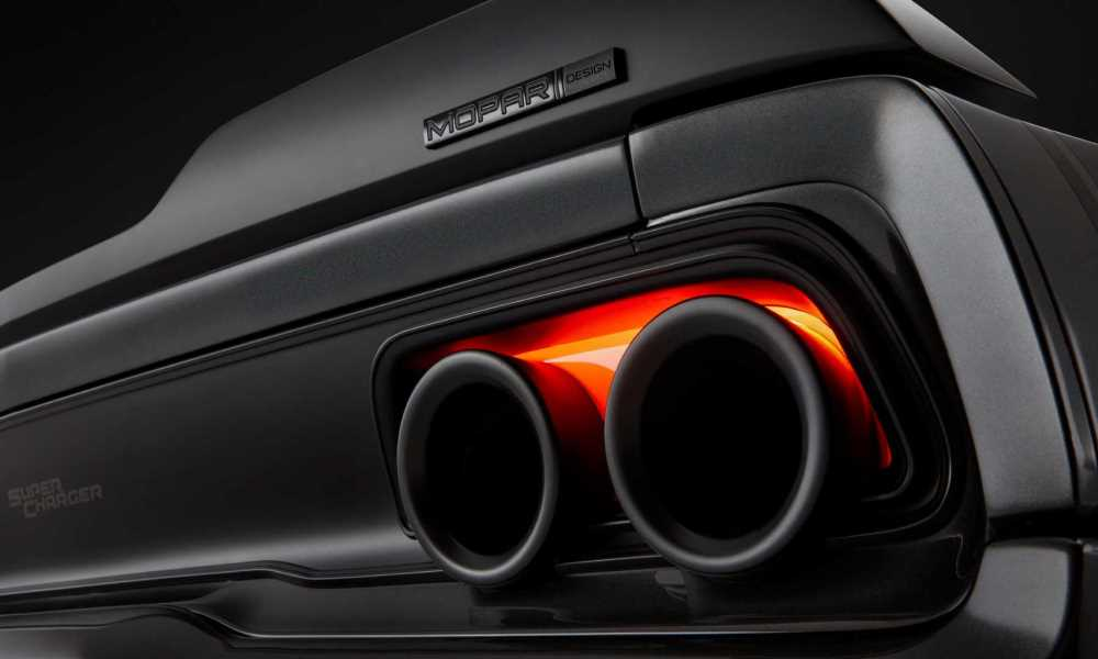Mopar Shows Off 746 Kw Dodge Charger Hellephant At Sema Car Magazine