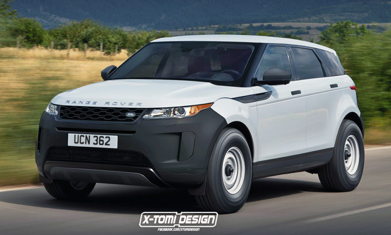 Range Rover Evoque rendered in base spec … and as bakkie! - CAR magazine d4394a7e55