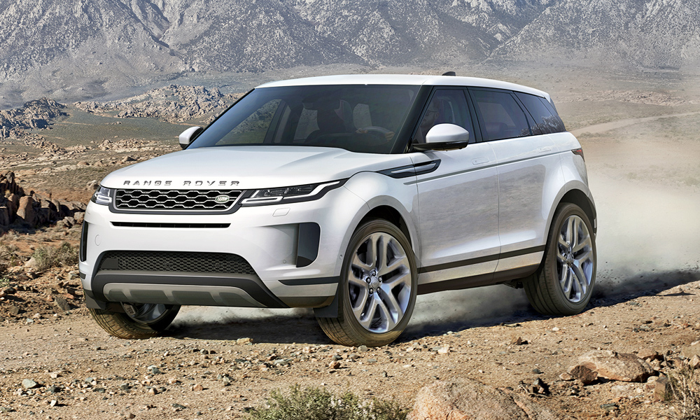 The new Range Rover Evoque has been revealed.