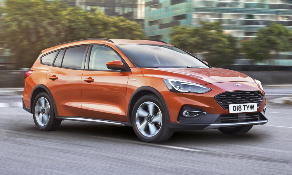 Ford has revealed its new Focus Active wagon.