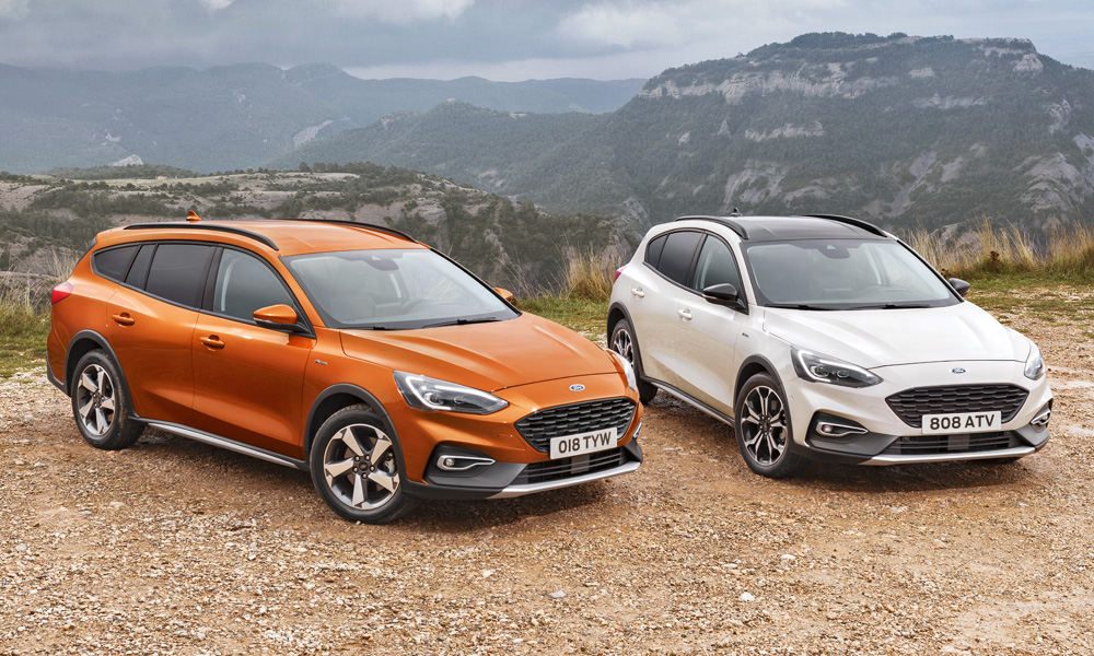 The new derivative slots in alongside the Focus Active hatchback.