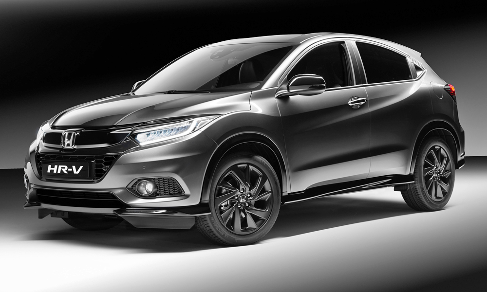 This is the new Honda HR-V Sport.
