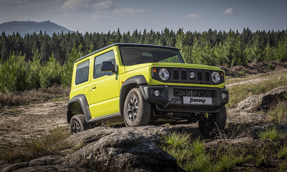 The Suzuki Jimny remains a formidable off-roader.
