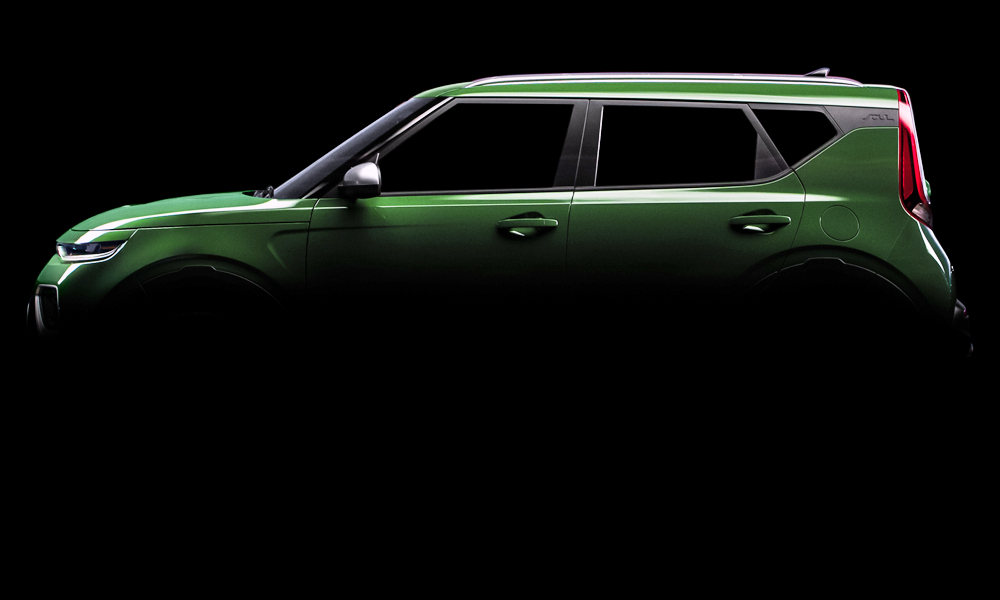 Kia has released a fresh batch of teaser images of its new, third-generation Soul.