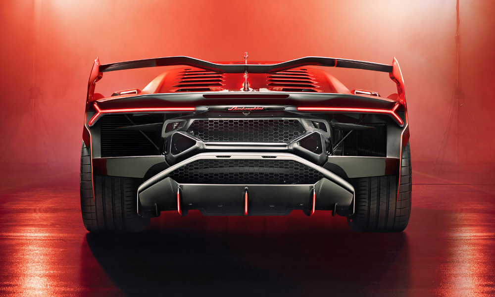 The SC18 shares its powerplant with the Aventador SVJ.