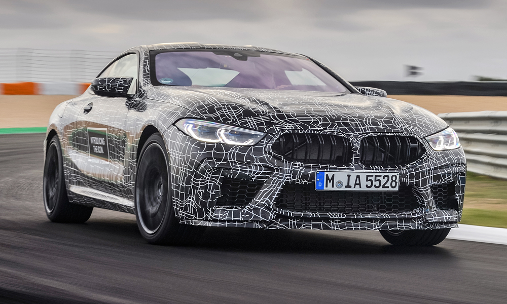 BMW has released fresh details about the upcoming M8 coupé.
