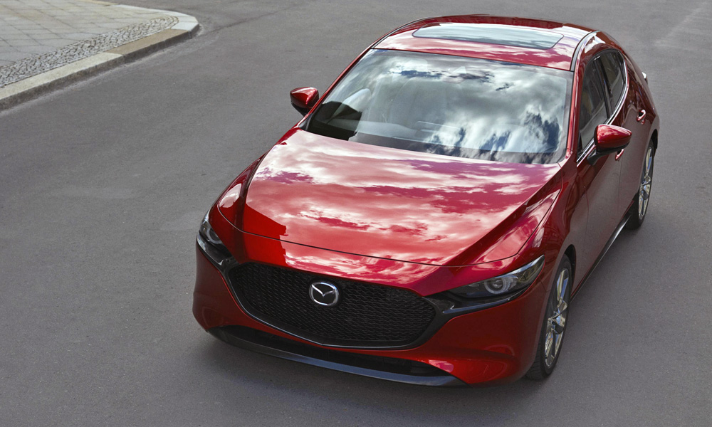 Mazda says a more mature design language has been adopted.